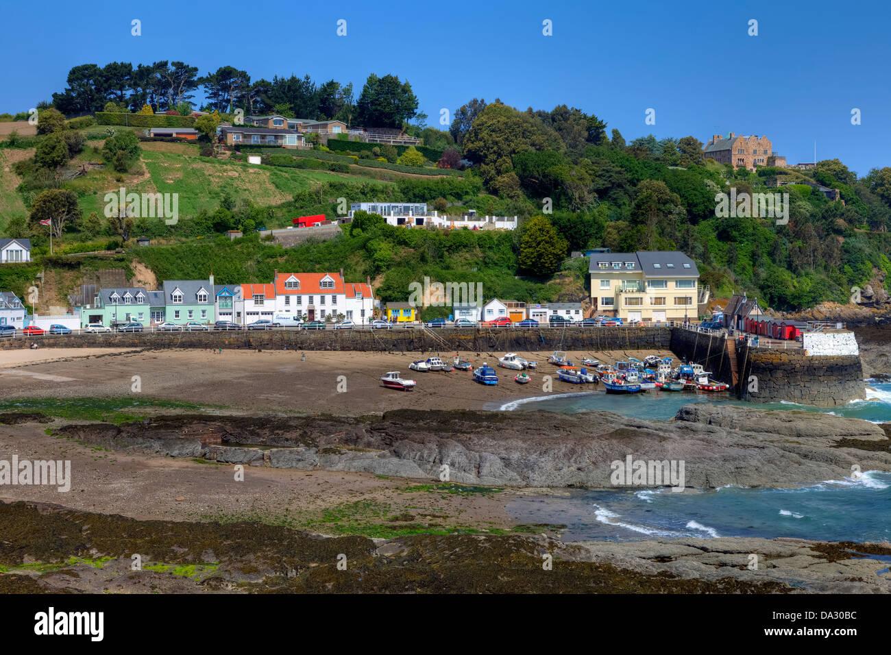 Rozel, Jersey, Channel Island, United Kingdom Photo Stock