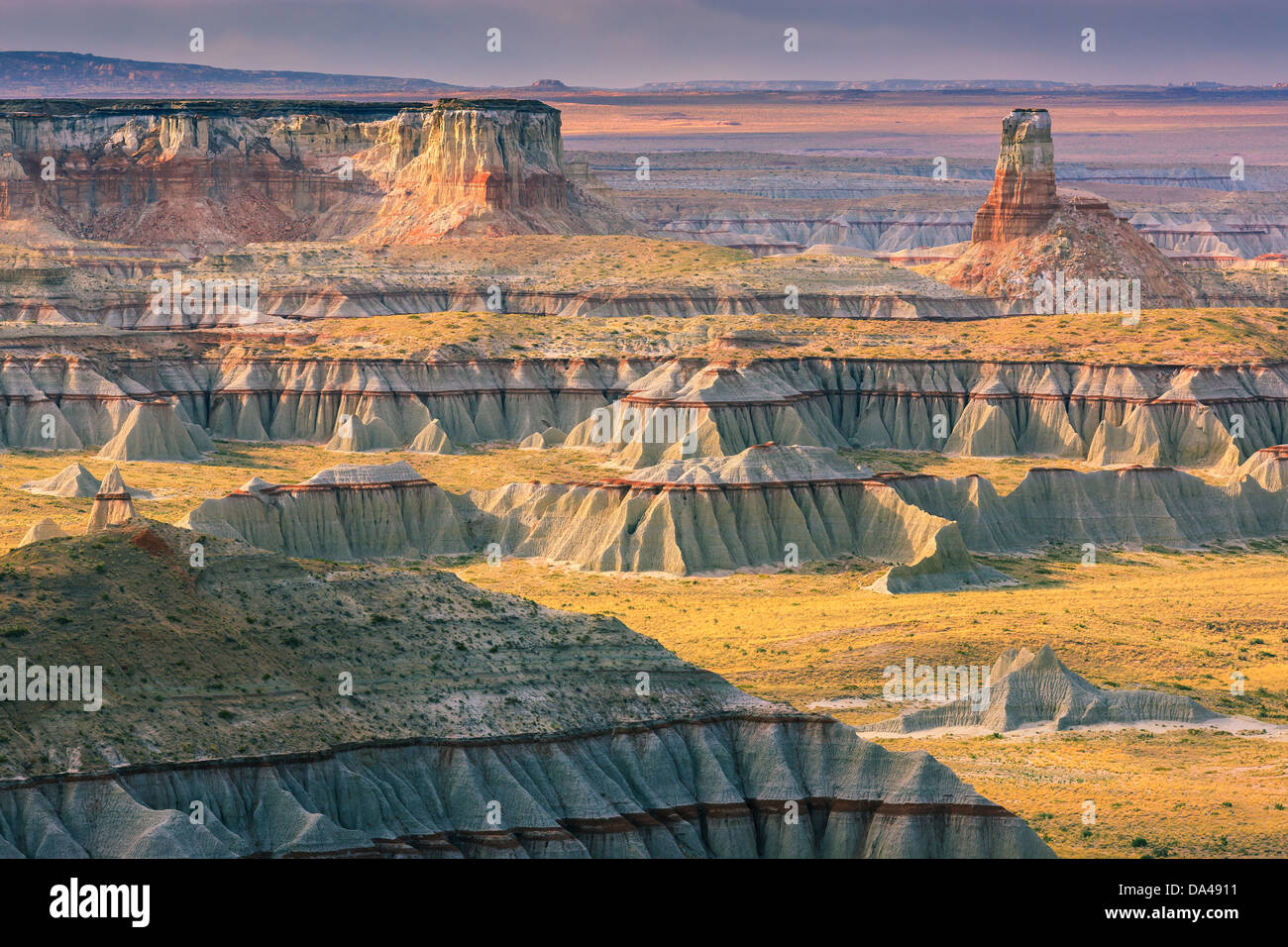 Ha Ho No Geh Canyon, dans le nord-est de l'Arizona près de Tuba City, États-Unis Photo Stock