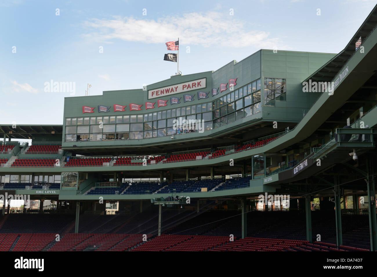 Fenway Park, Boston, Massachusetts, les Boston Red Sox Banque D'Images