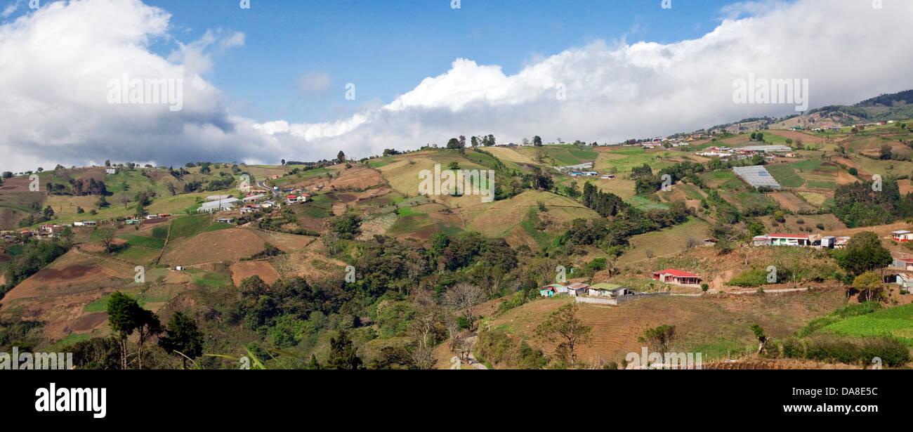 Campagne du Costa Rica Photo Stock