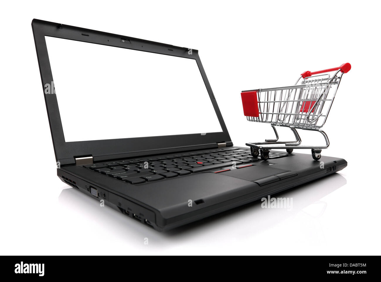 Site e-commerce Photo Stock
