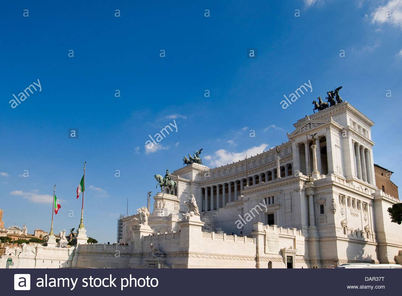Vittoriano Rome,Italie,lazio, Photo Stock