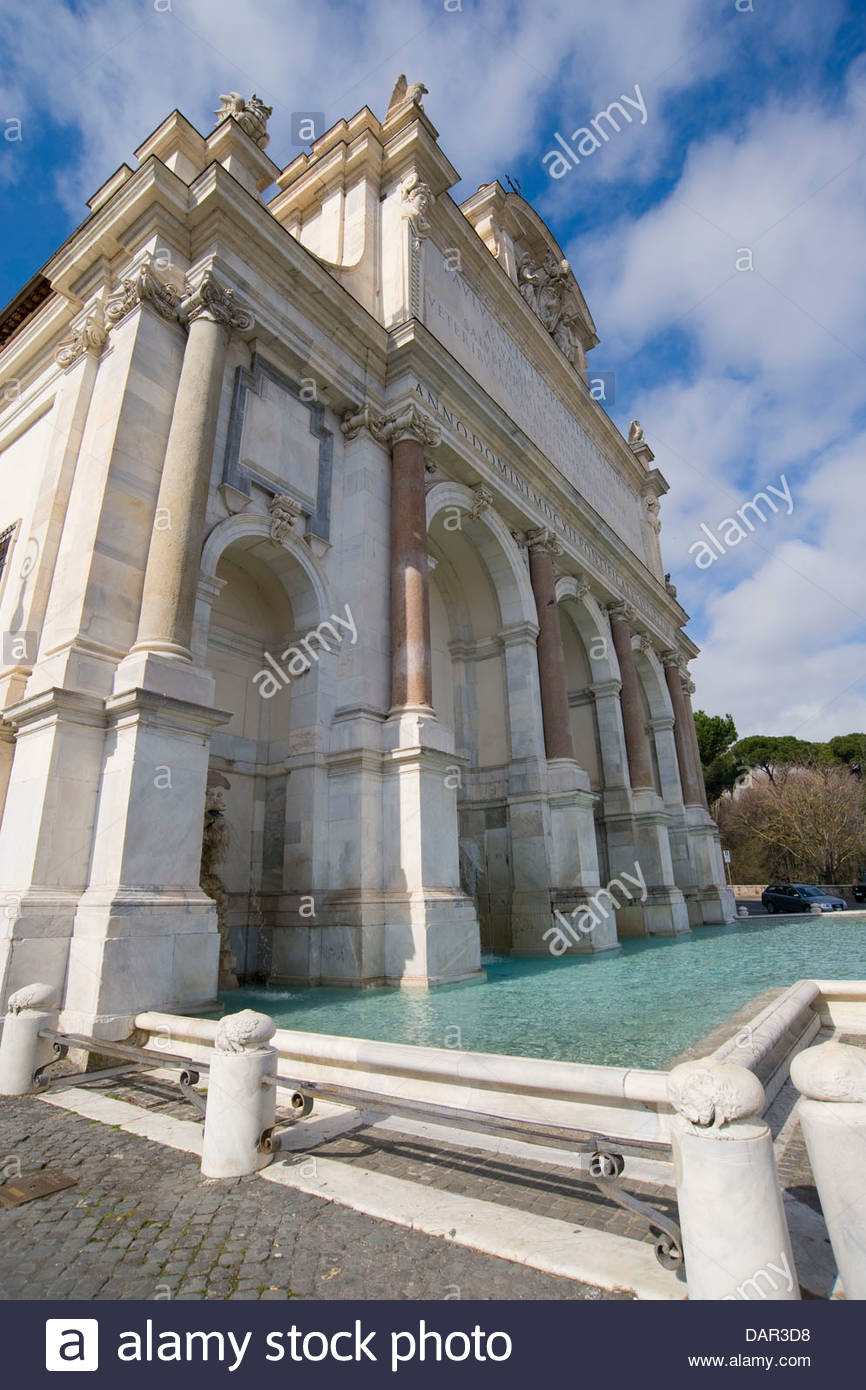La grande fontaine,Rome, Latium, Italie Banque D'Images