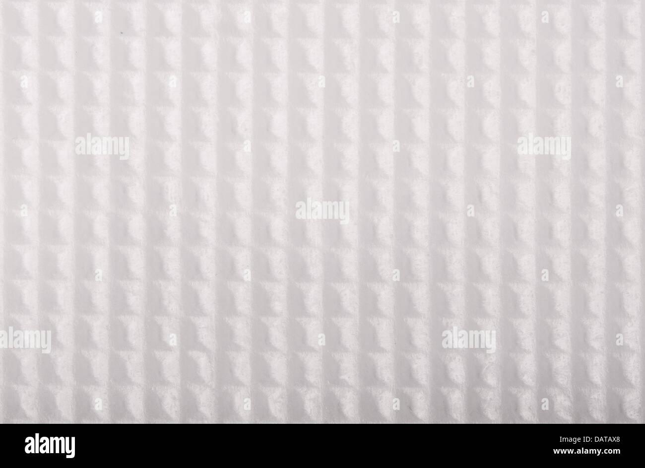 Texture géométrique blanc Photo Stock
