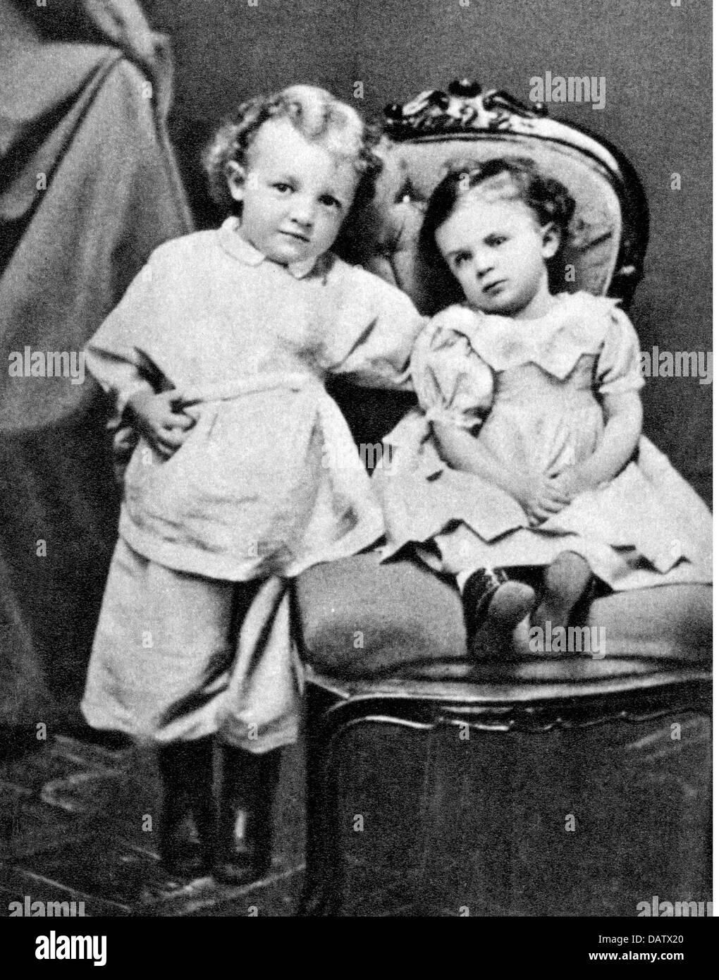 Lénine (Vladimir Ilitch Oulianov), 22.4.1870 - 21.1.1924, homme politique russe, demi-longueur, comme un enfant, Photo Stock