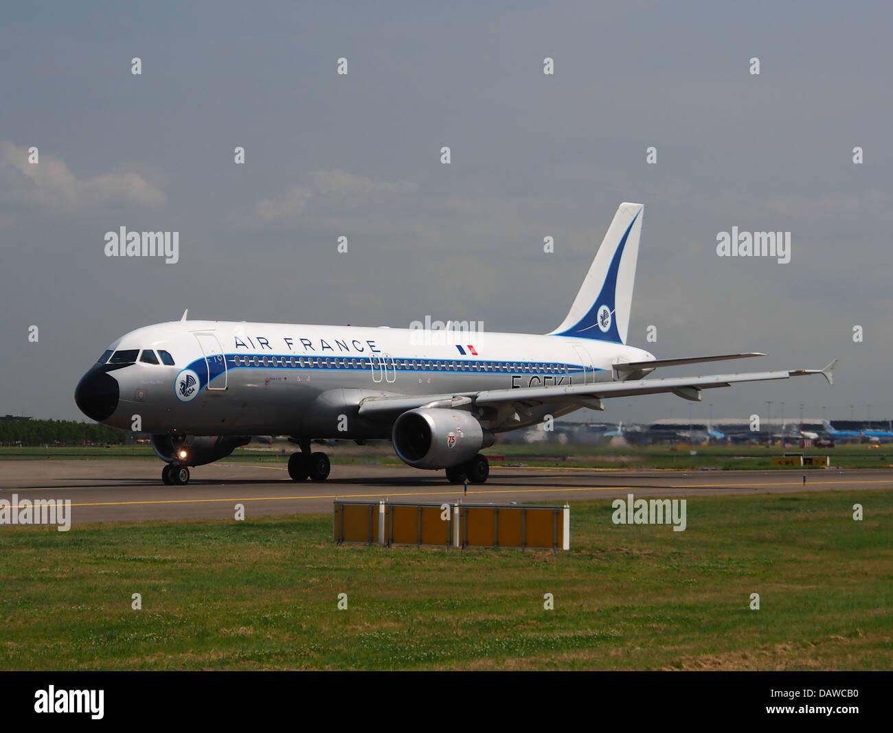 F-GFKJ Air France Airbus A320-211 - cn 063 - 1 Photo Stock