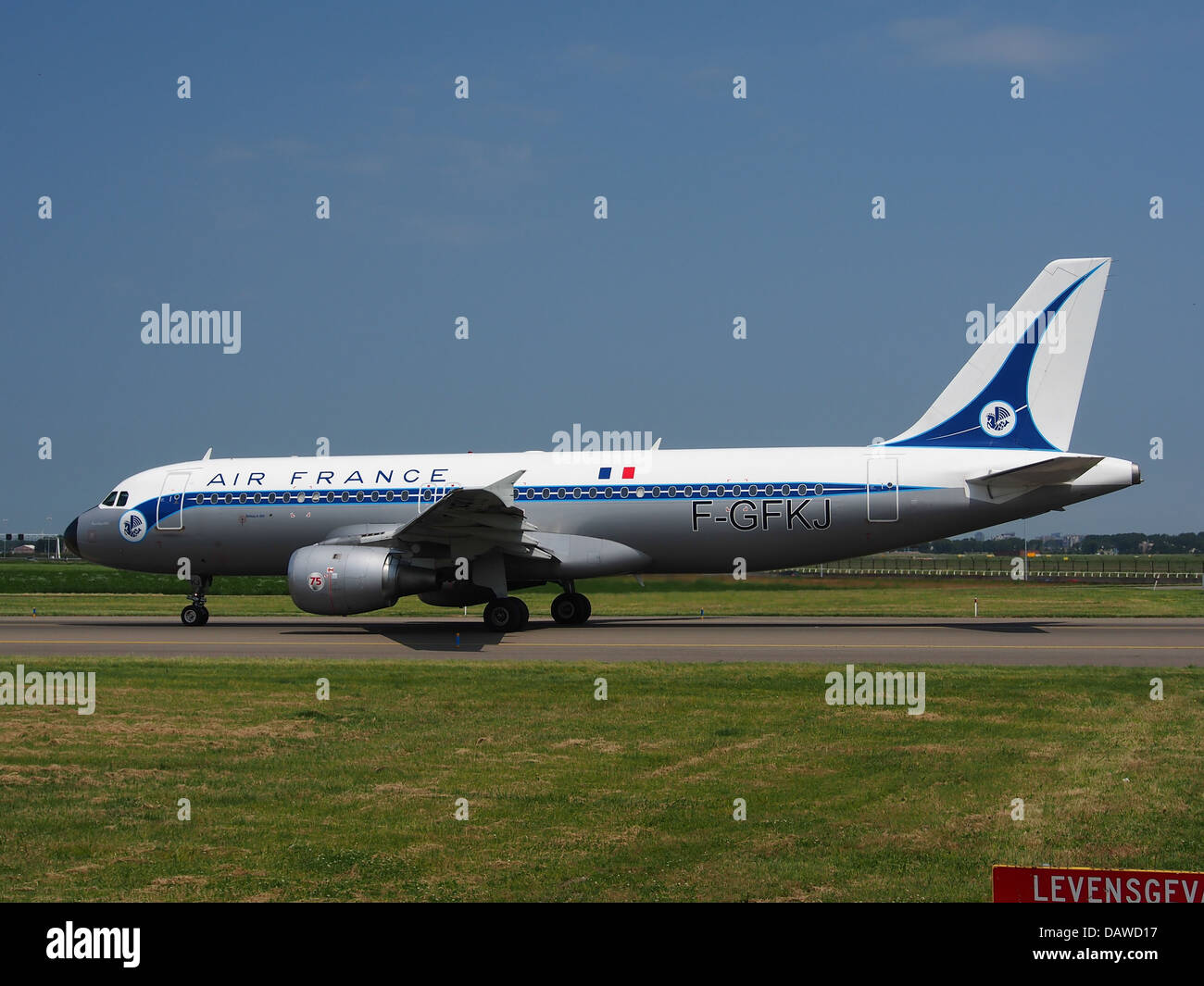 F-GFKJ Air France Airbus A320-211 - cn 063 - 5 Photo Stock