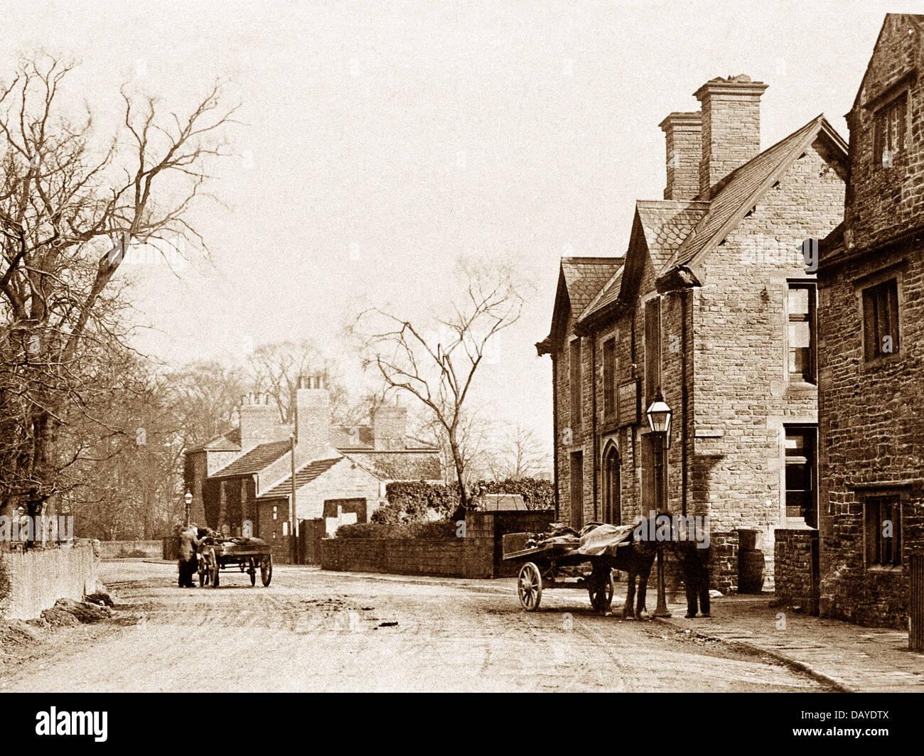 Au début des années 1900 Methley Photo Stock