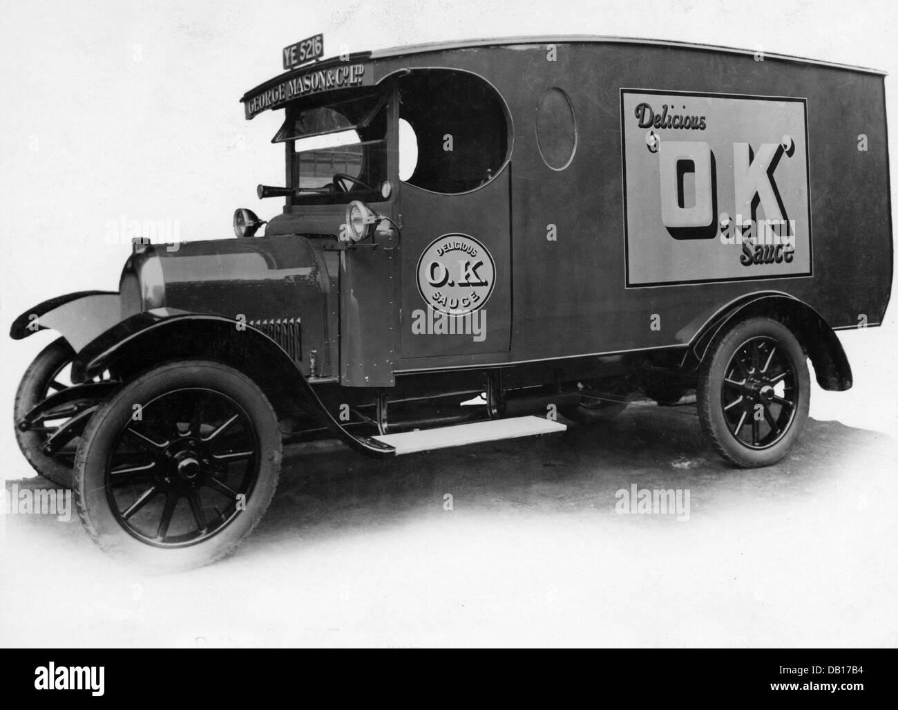 1927 Beardmore 20-25cwt Photo Stock