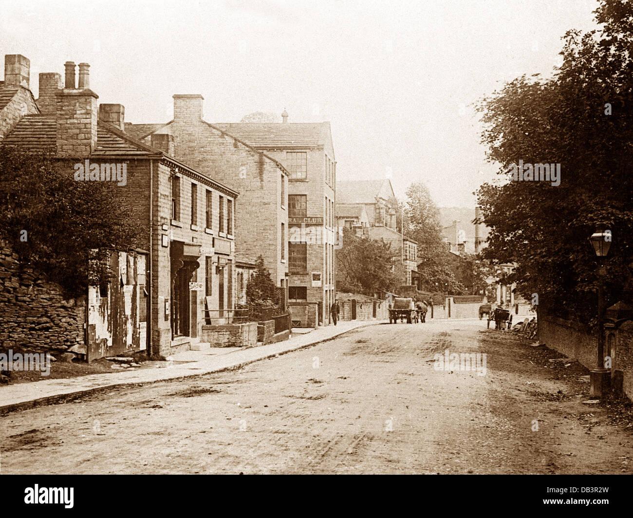 Au début des années 1900, Kirkburton Photo Stock
