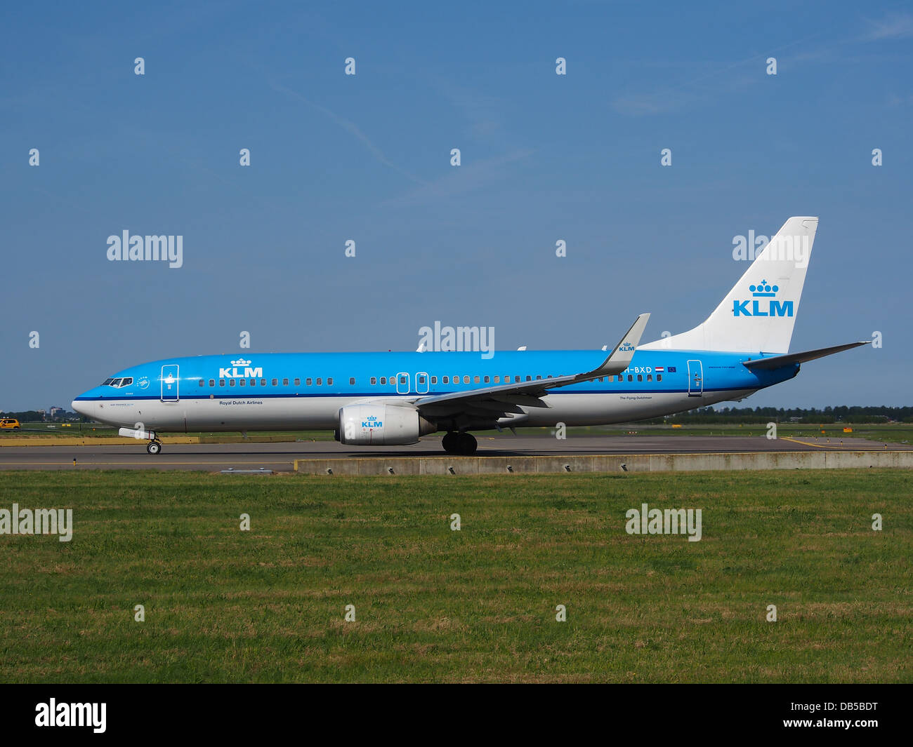 PH-BXD KLM Royal Dutch Airlines Boeing 737-8K2(WL) - CN 291343 Banque D'Images