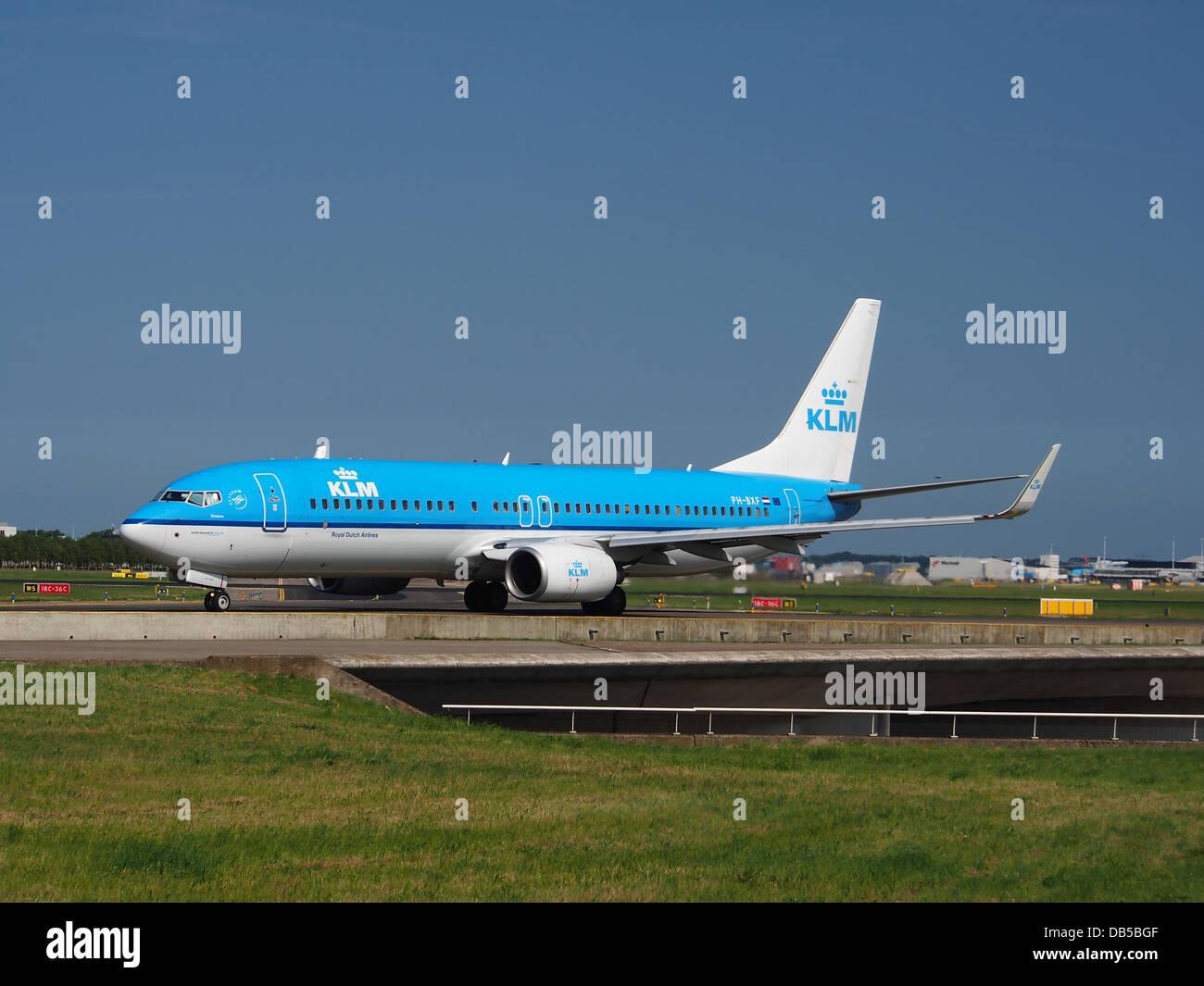 PH-BXF KLM Royal Dutch Airlines Boeing 737-8K2(WL) - CN 295961 Banque D'Images