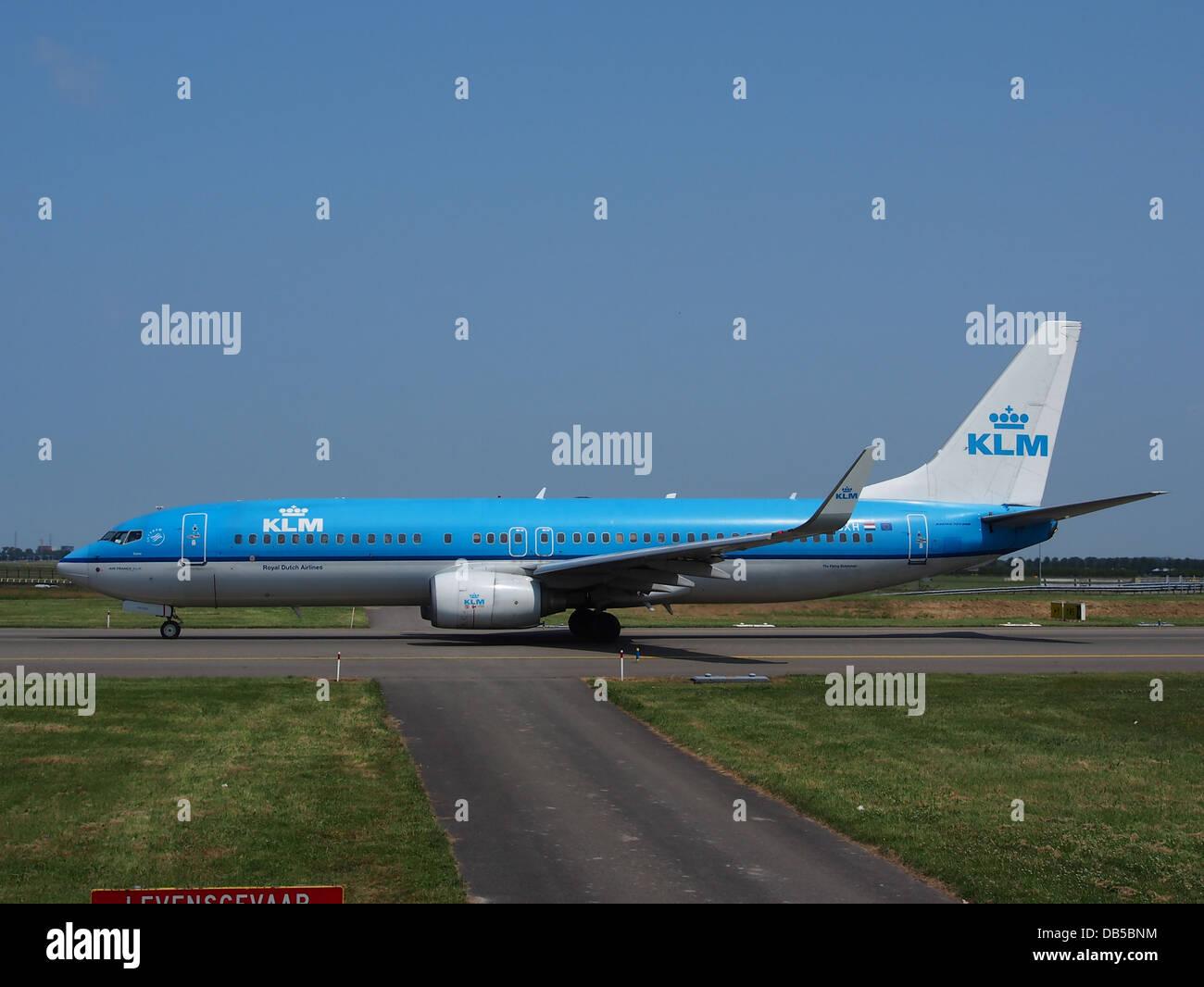 PH-FXH KLM Royal Dutch Airlines Boeing 737-8K2(WL) - CN 295973 Banque D'Images