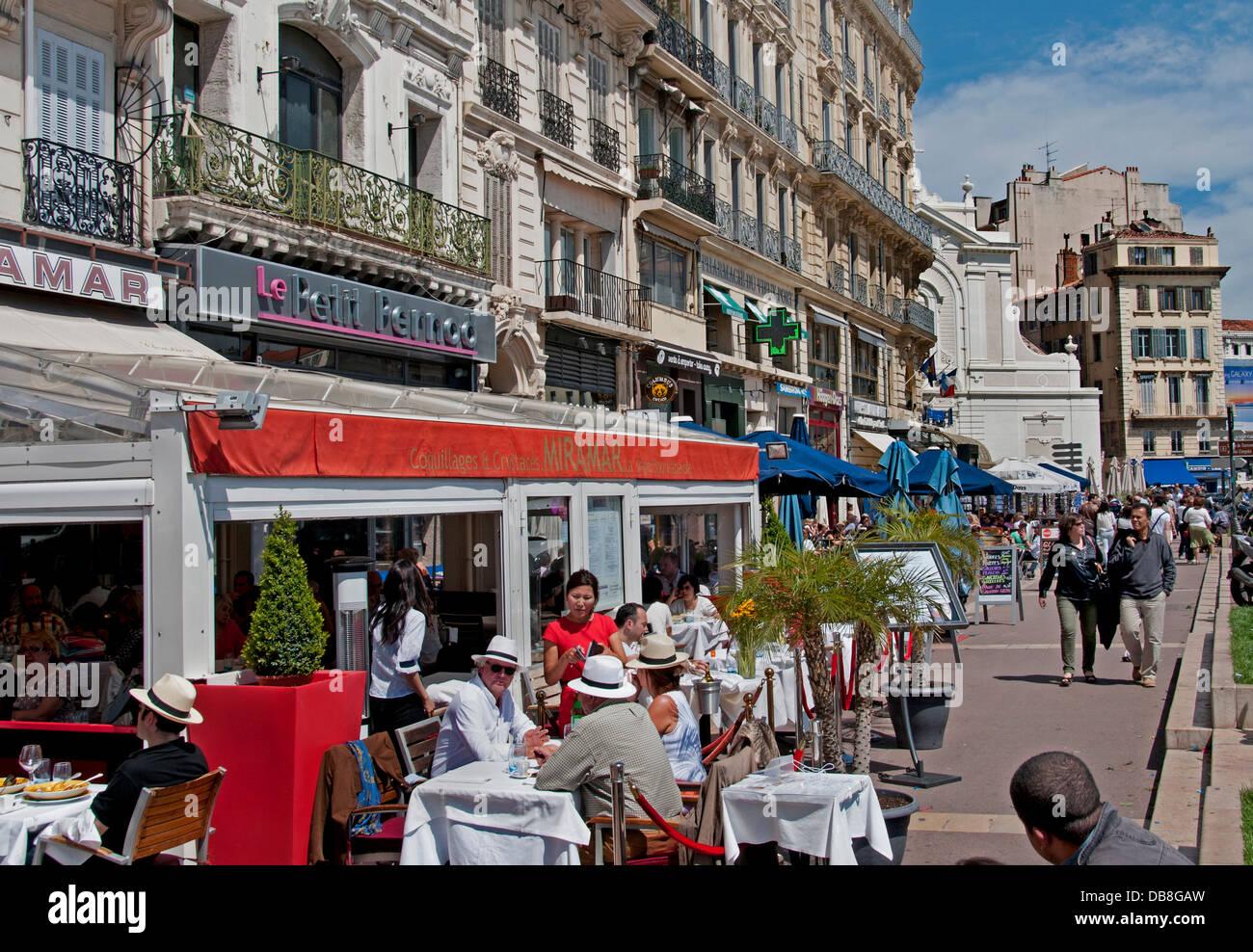 Miramar bouillabaisse restaurant caf bar pub vieux vieux port marseille france sur quai du port - Restaurant libanais marseille vieux port ...