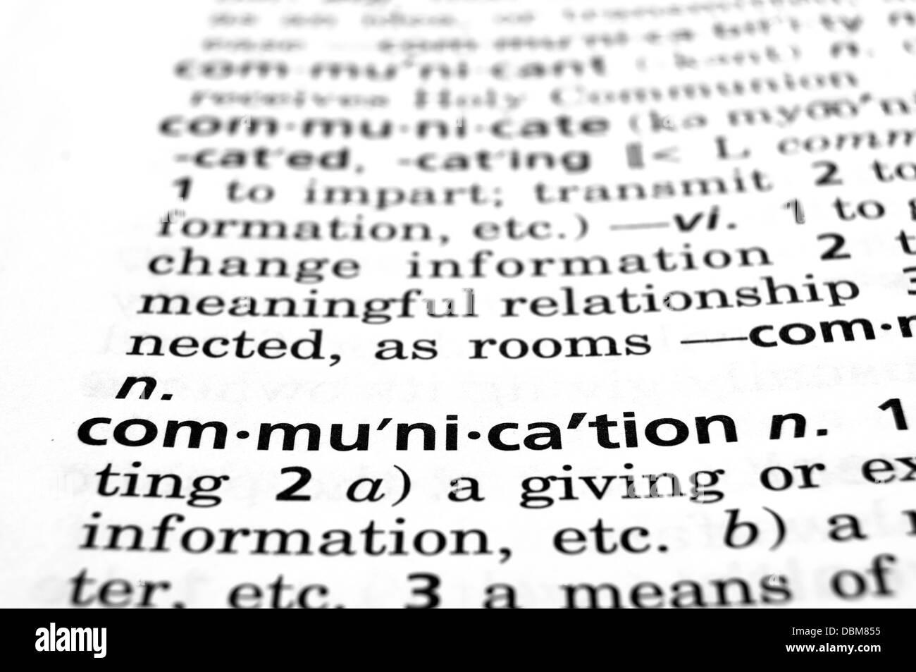 Concept de communication Photo Stock