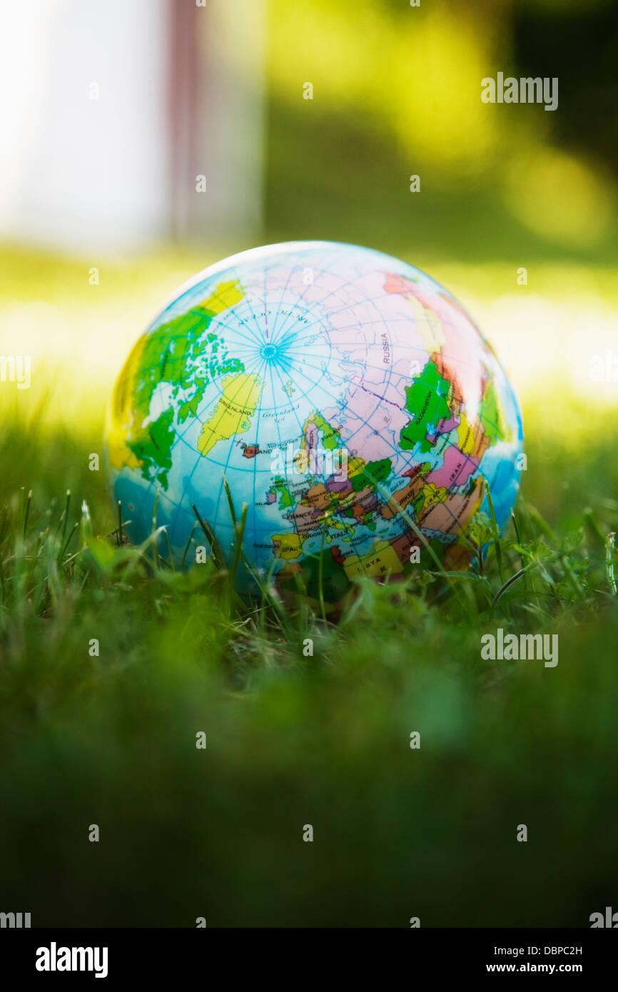 World globe ball Photo Stock