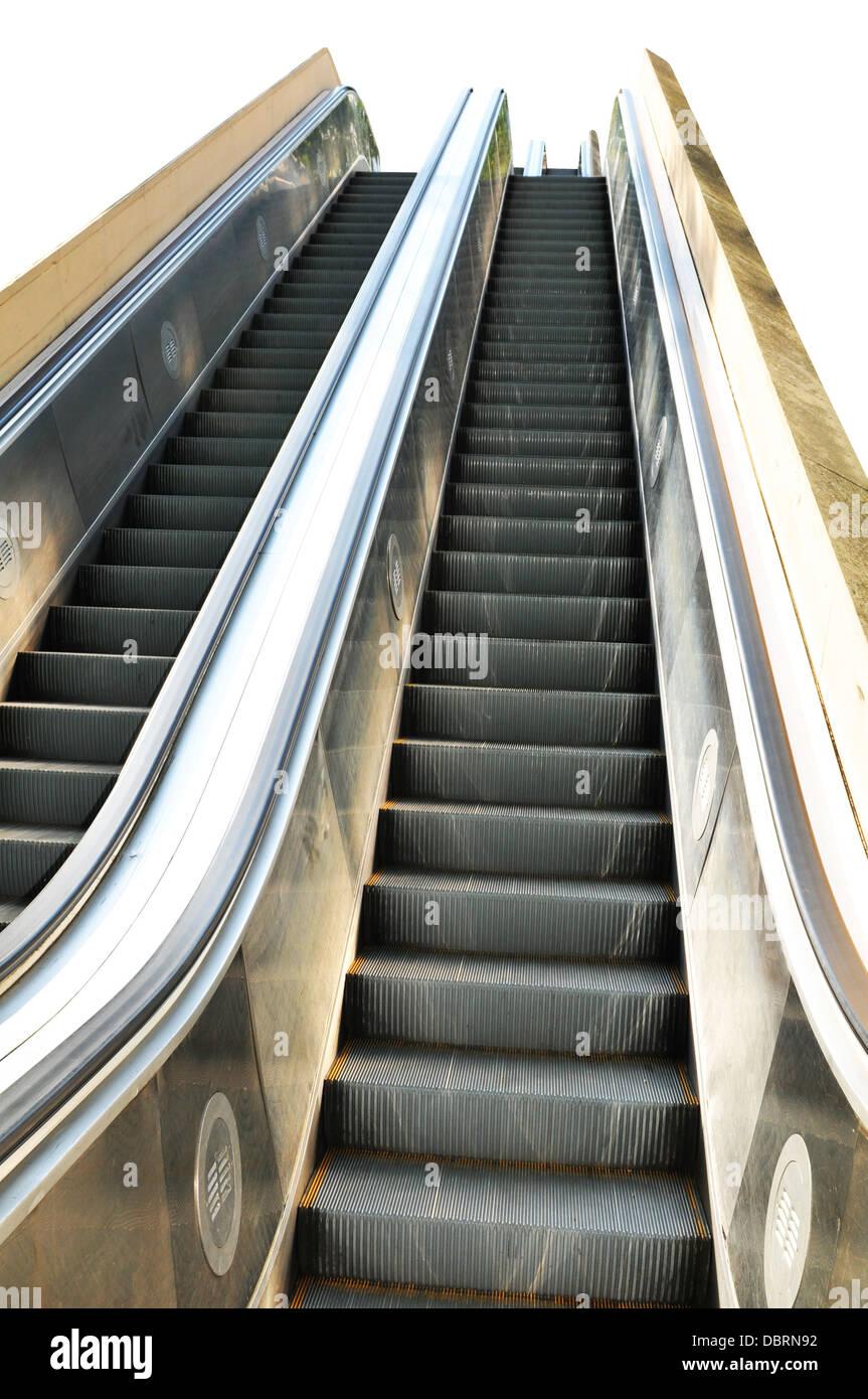 Close up de escalier escalier moderne Banque D\'Images, Photo ...