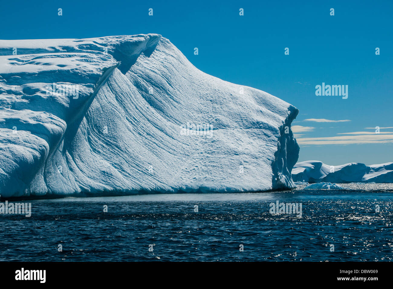 Iceberg, Cierva Cove, l'Antarctique, régions polaires Photo Stock