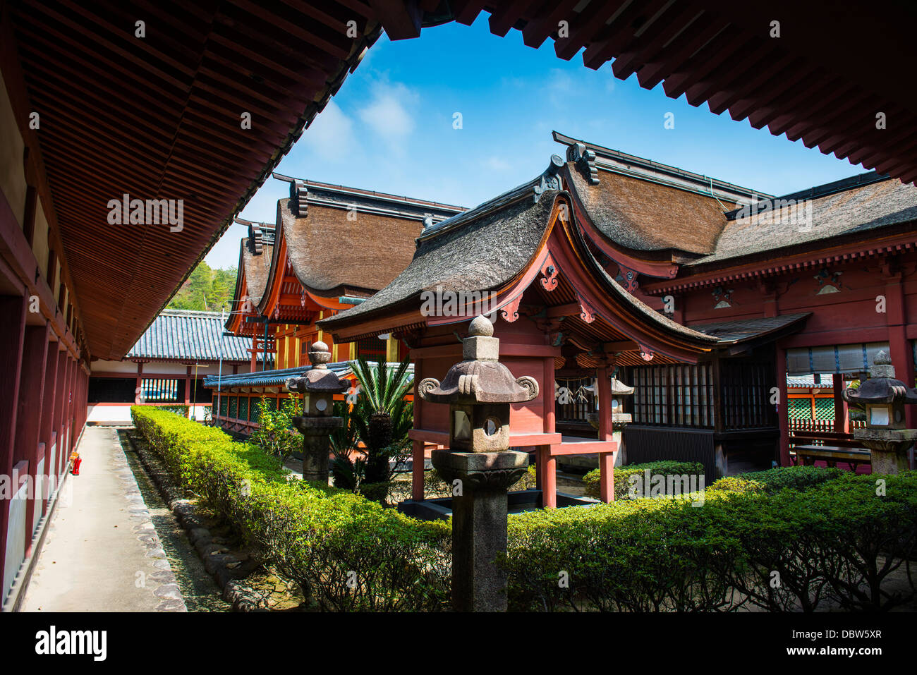 Ishiteji Temple à Matsuyama, Shikoku, Japon, Asie Photo Stock