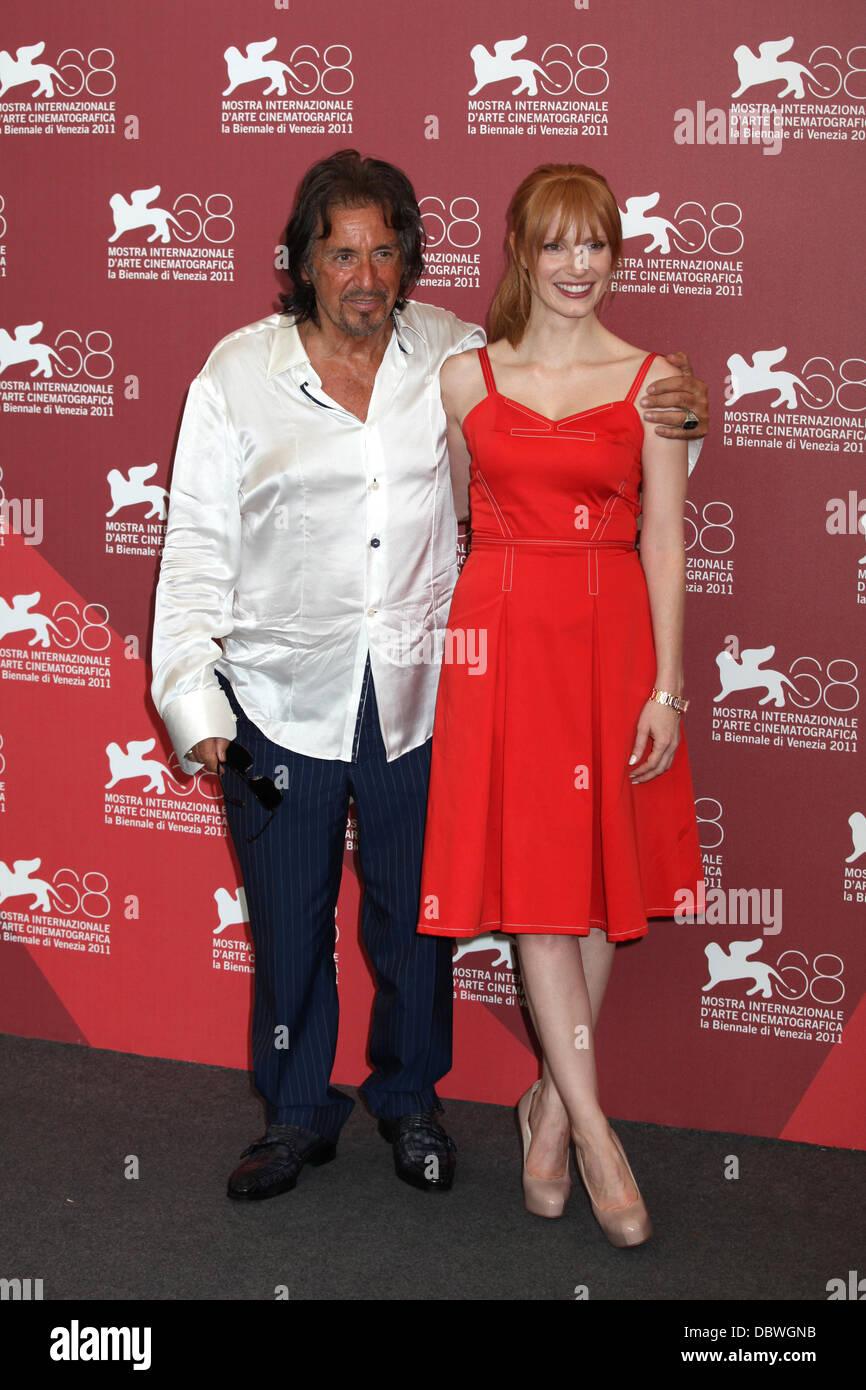 Al Pacino et Jessica Chastain Le 68e Festival du Film de