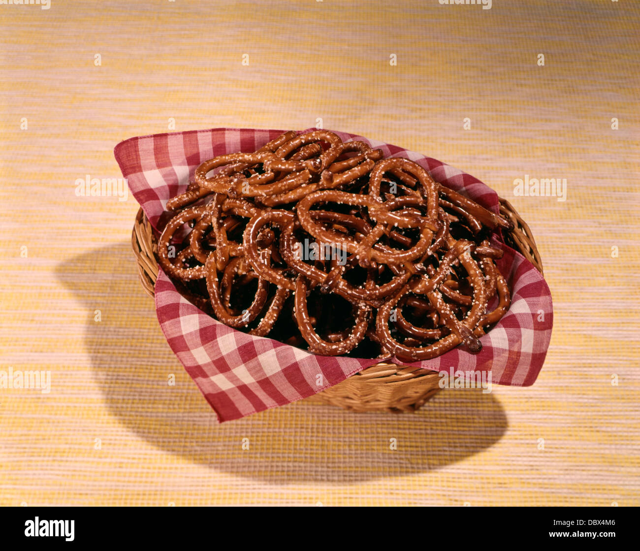 1960 BRETZELS COLLATIONS BOL Photo Stock