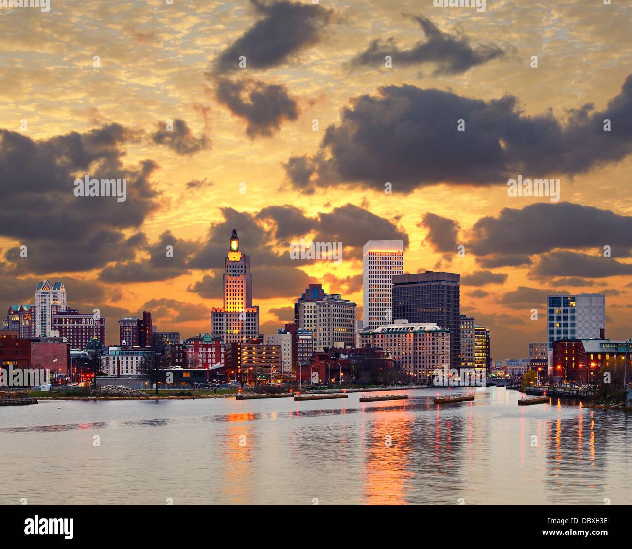 Providence, Rhode Island. Photo Stock