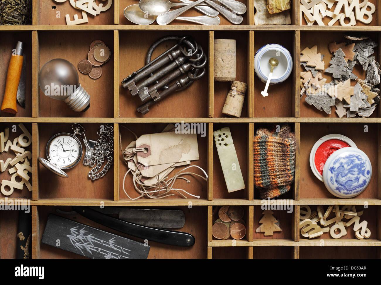 Objet Vintage Photo Stock