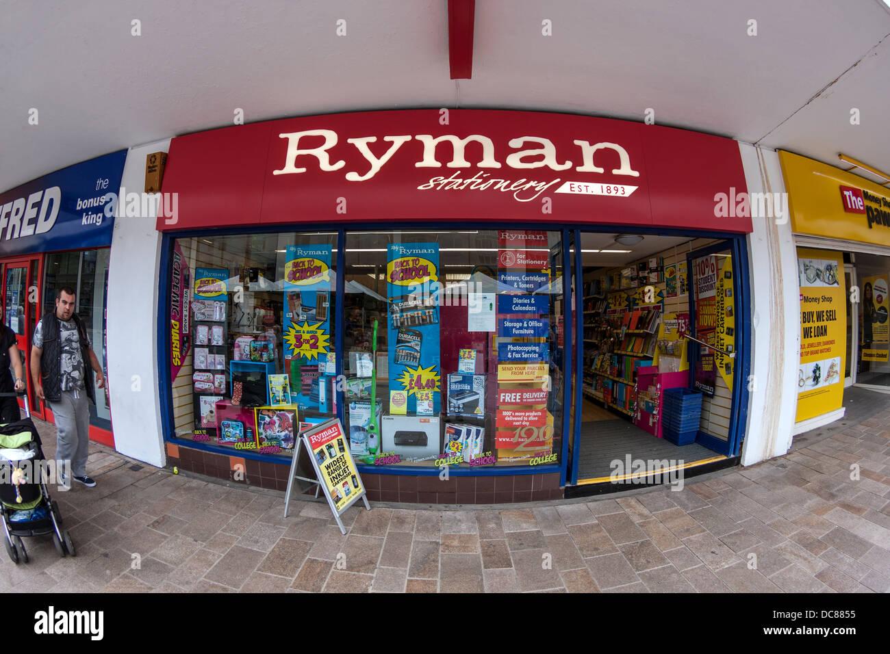 Papeterie Ryman Photo Stock
