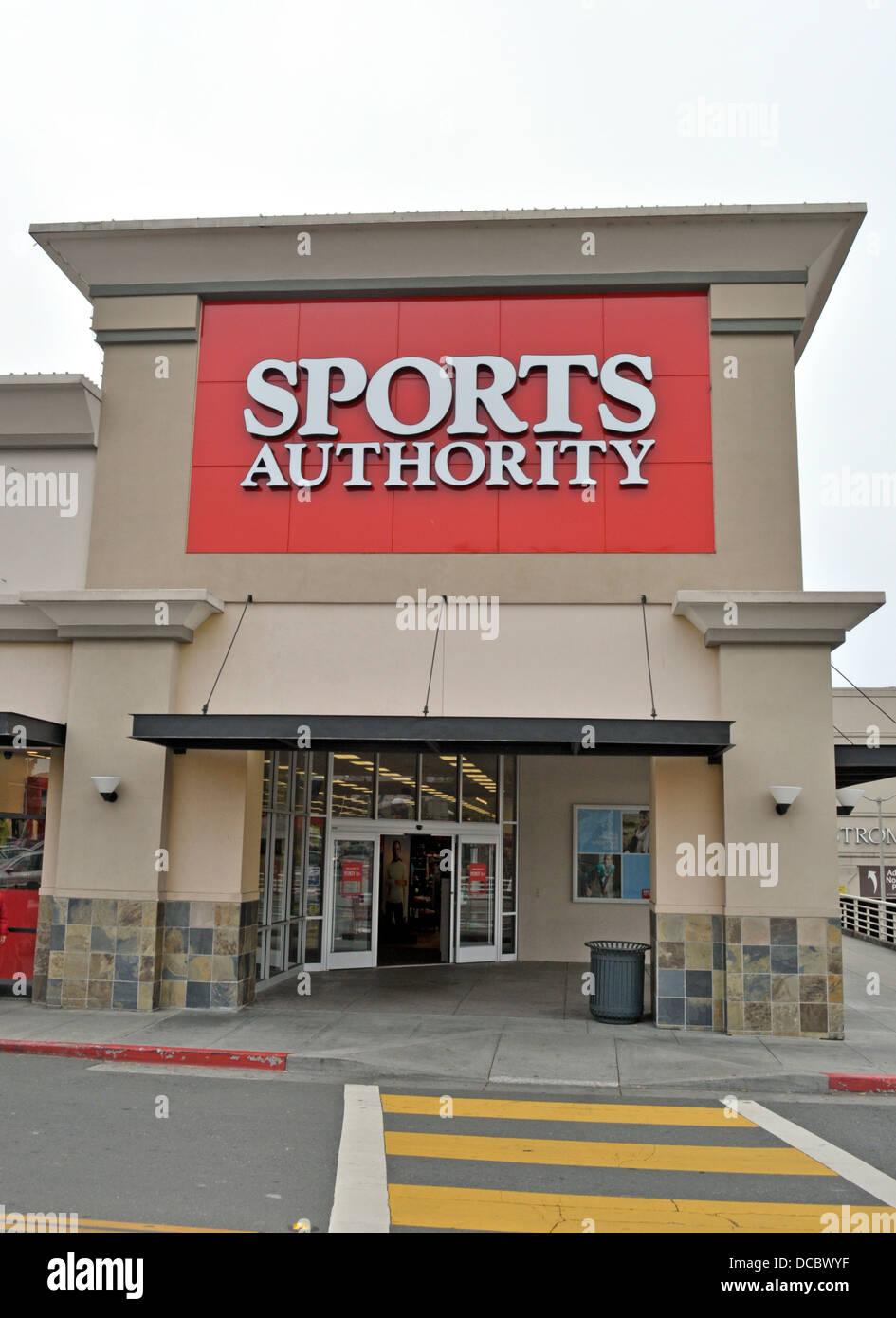 Sports Authority store Photo Stock