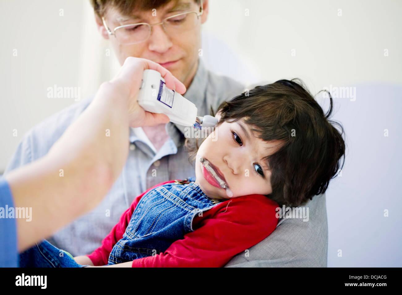À l'hôpital pour enfants Photo Stock