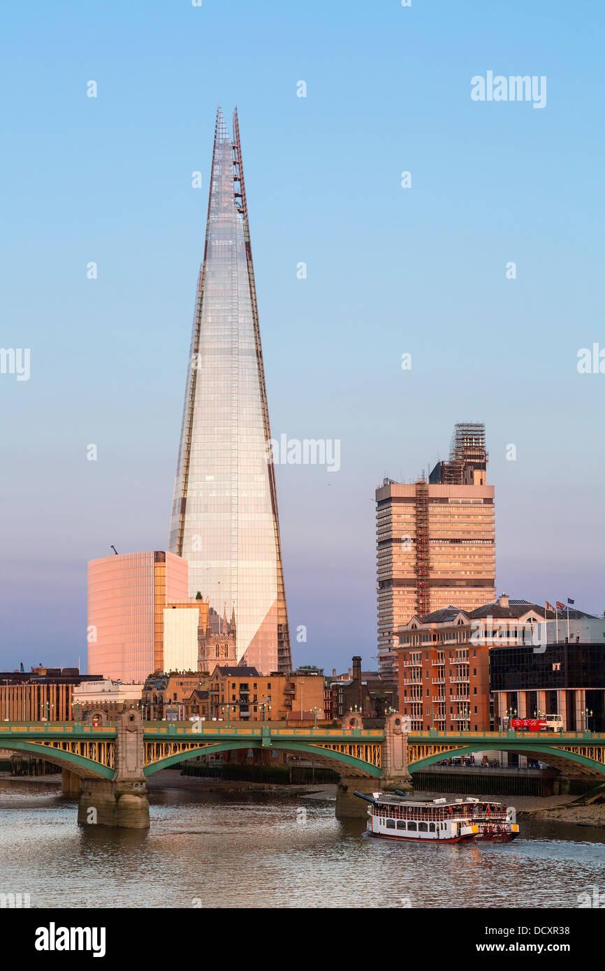 Londres, le Shard London Bridge Photo Stock