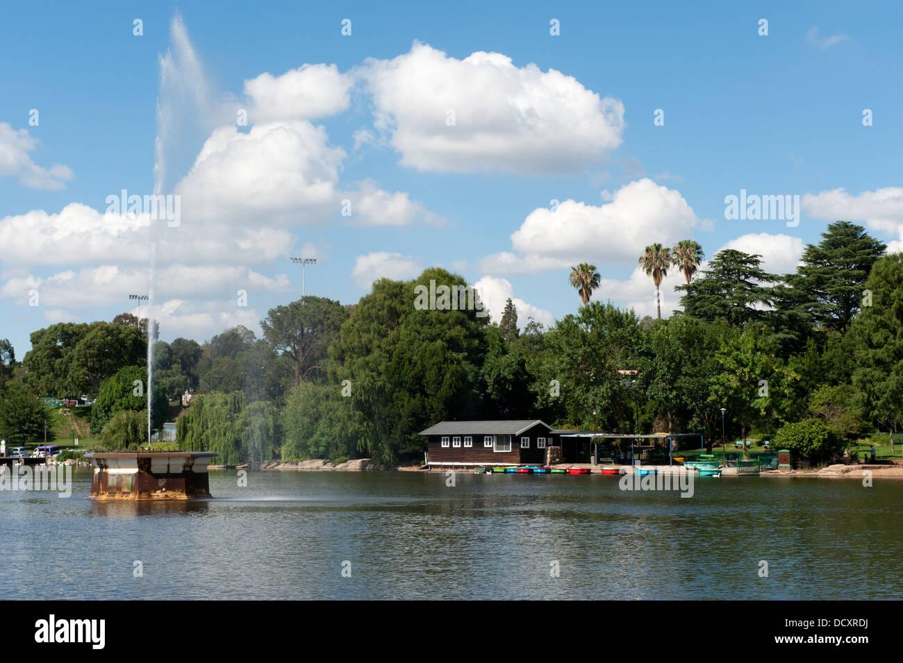 Lac Zoo, Johannesburg, Afrique du Sud Photo Stock
