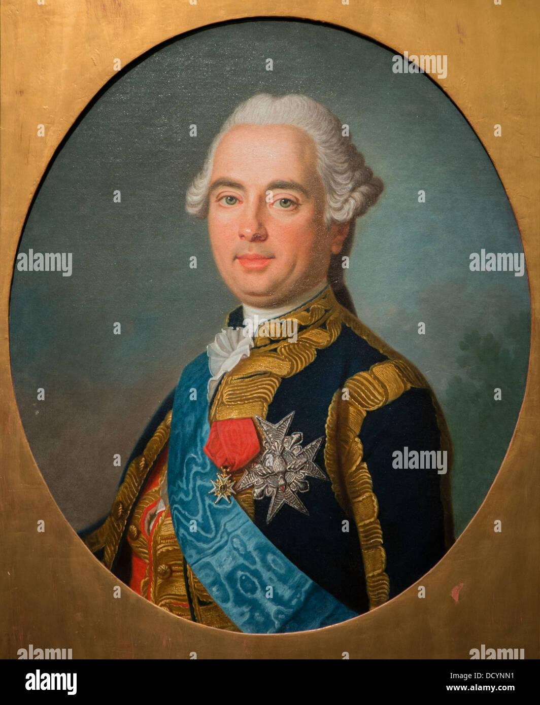 Victor-François, duc de Broglie, maréchal de France - Anonyme - Musée de l'armée Hôtel National des Invalides / Banque D'Images