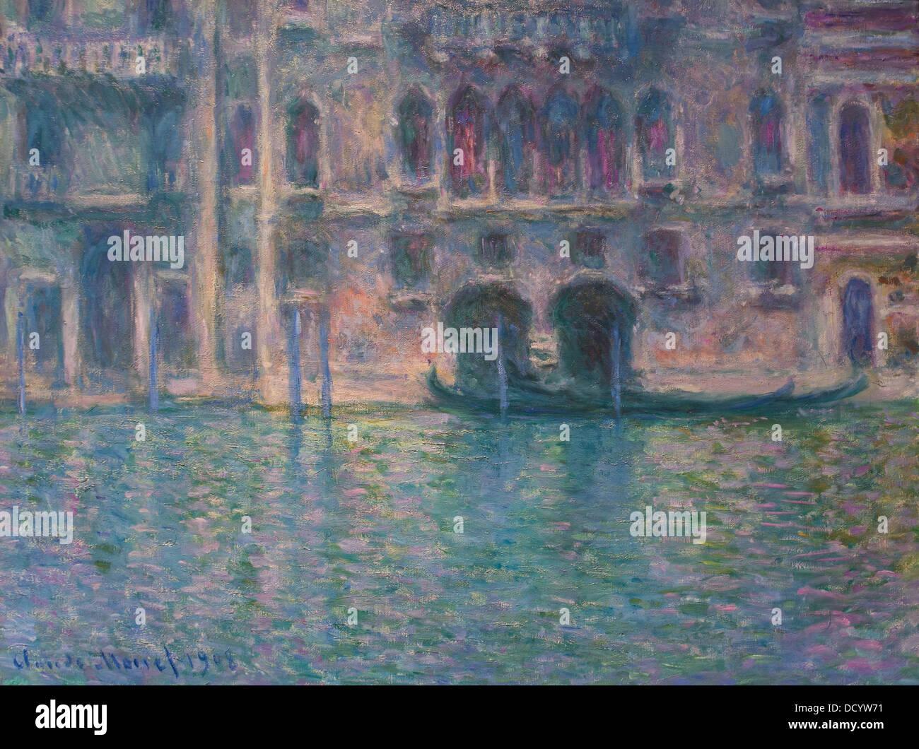20e siècle - Claude Monet (1908) Philippe Sauvan-Magnet / Active Museum Photo Stock