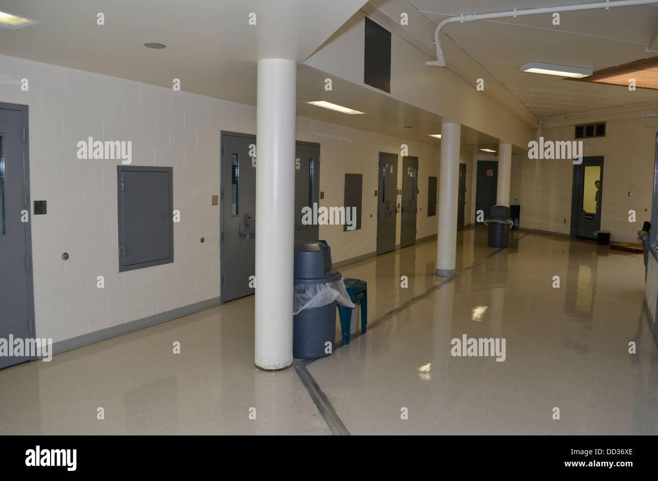 Aile médicale/de l'hôpital. Centre de diagnostic et d'évaluation, Lincoln, Nebraska. Photo Stock
