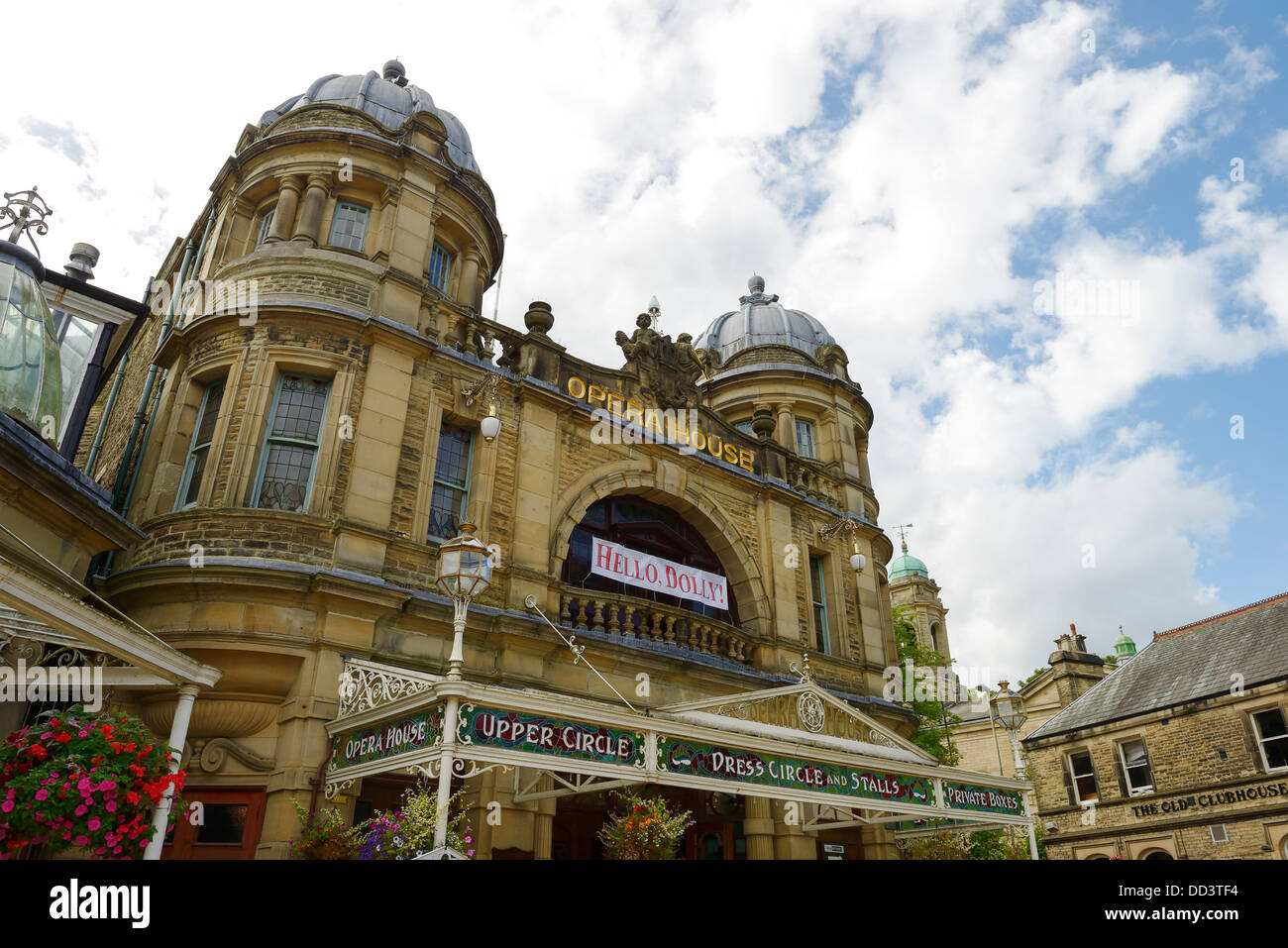 Façade de l'Opéra de Buxton UK Photo Stock