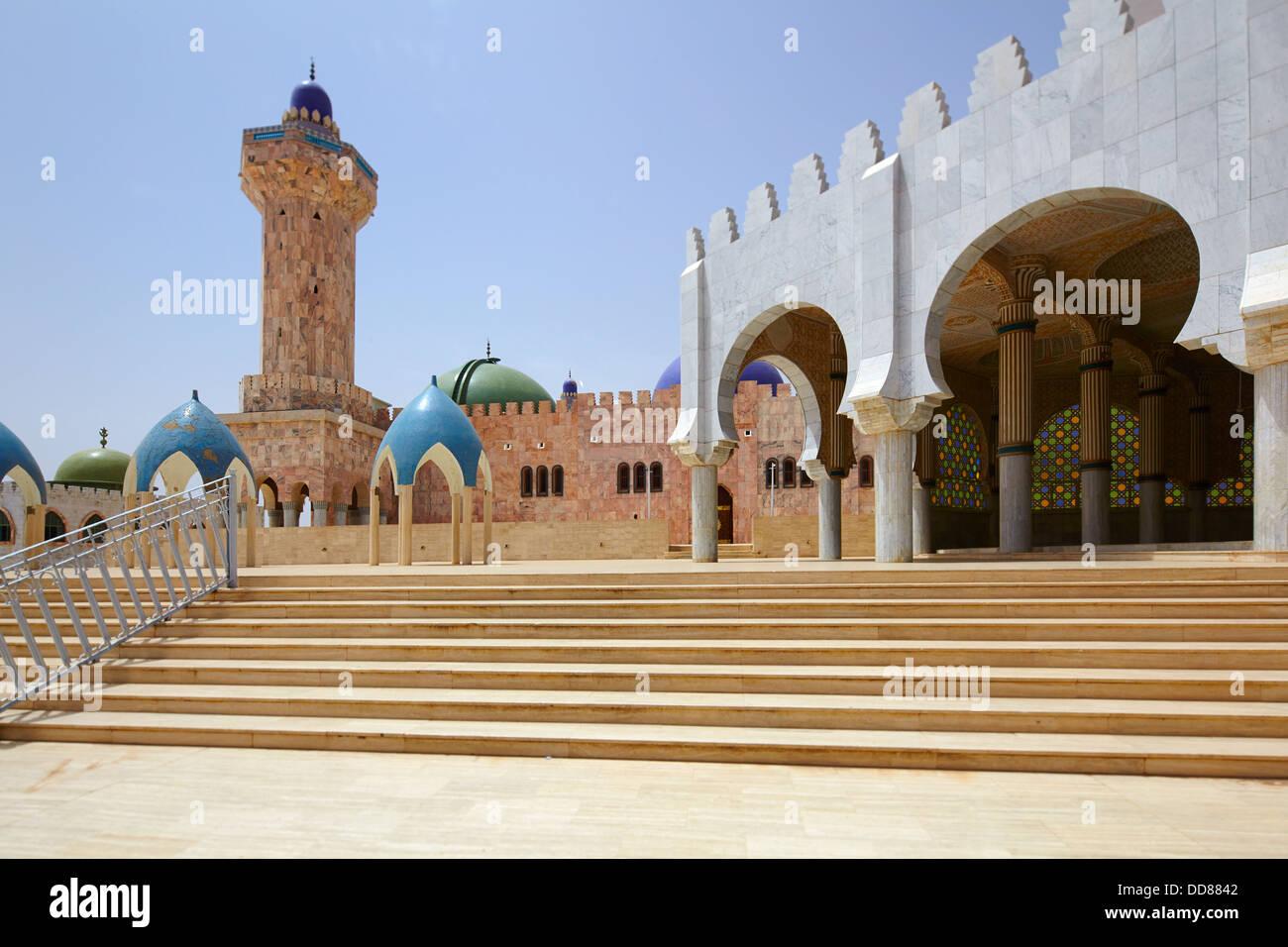 Grande Mosquée de Touba, au Sénégal, l'Afrique Photo Stock