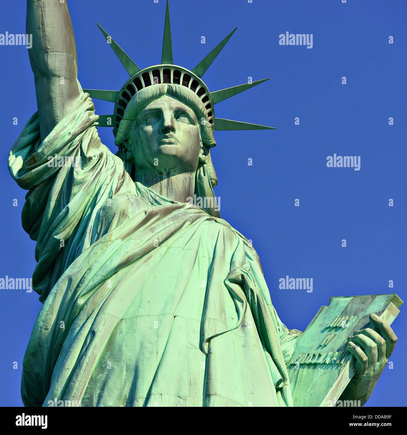 Statue de la Liberté à New York. Photo Stock