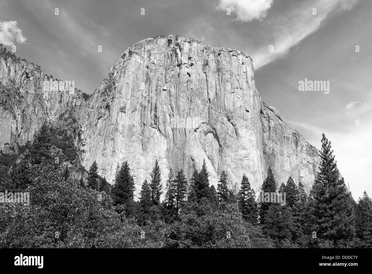 Le magnifique El Capitan au Yosemite National Park en Californie Banque D'Images