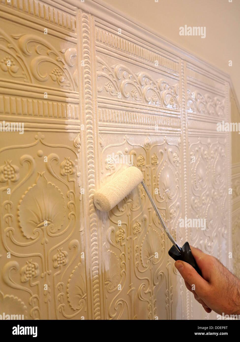 la décoration traditionnelle, peintre et décorateur peinture