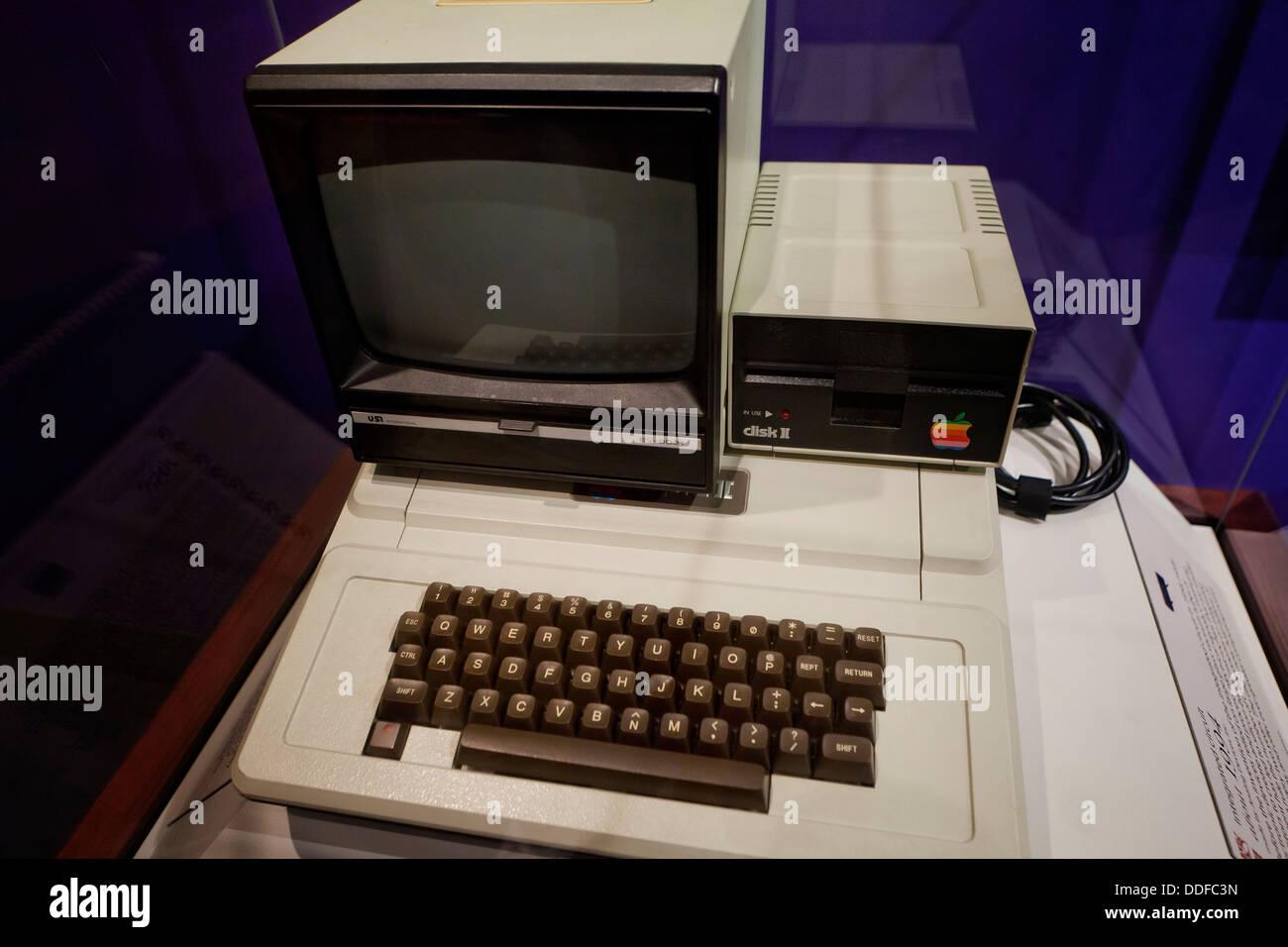 Ordinateur Apple II Photo Stock