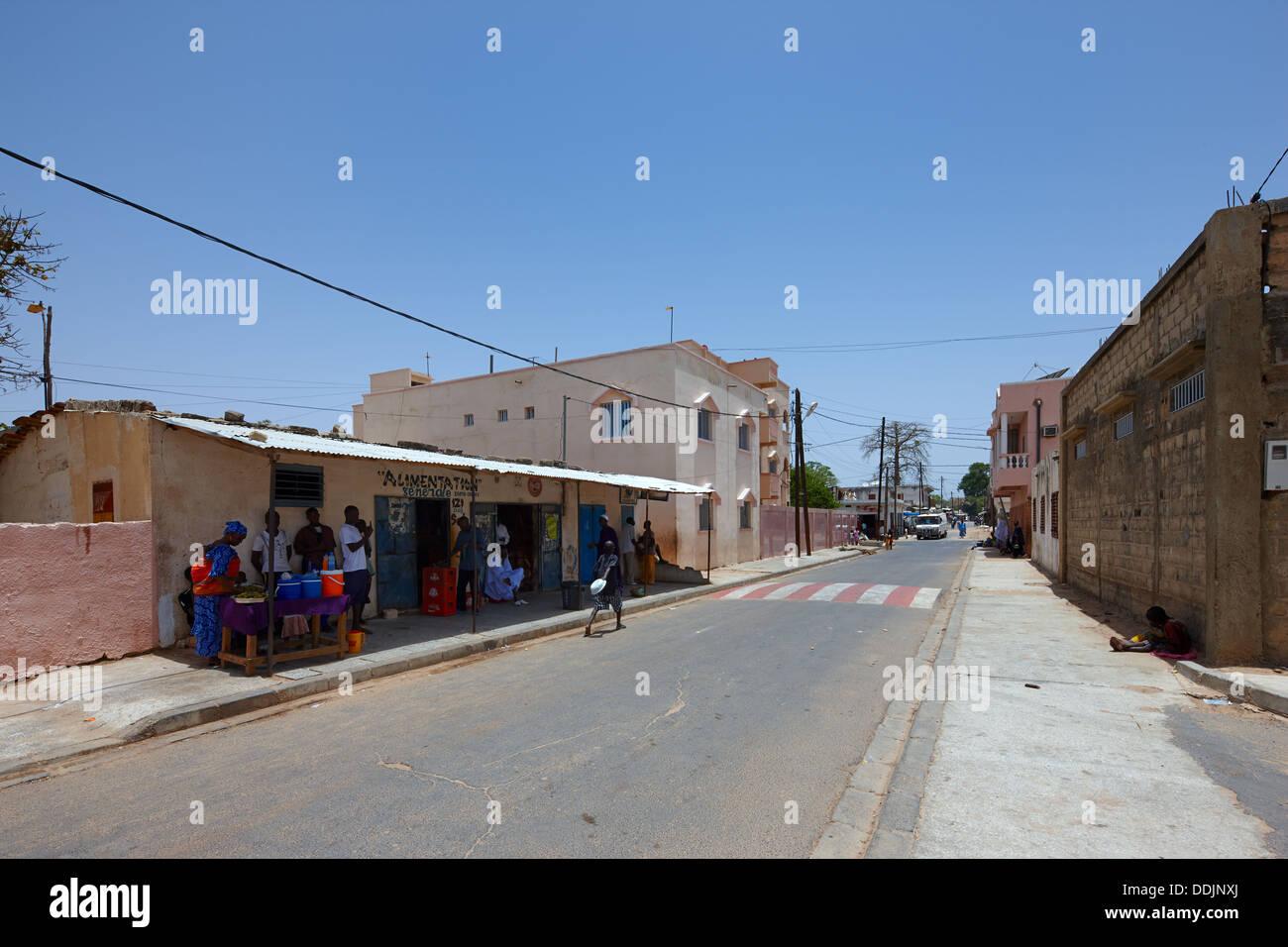 Tivaouane, Sénégal, Afrique Photo Stock