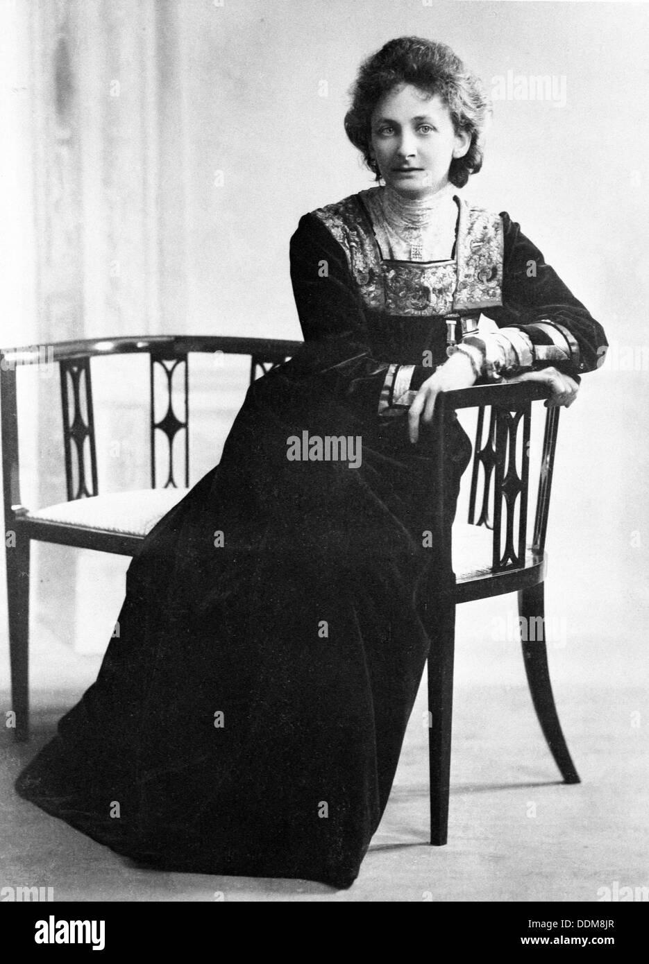 Suffragette, Lady Constance Lytton, c1912. Artiste: Inconnu Banque D'Images