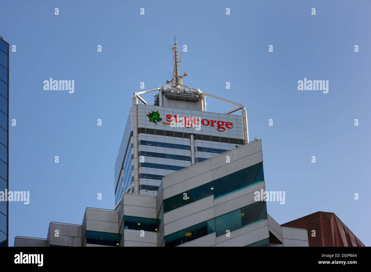 St George Bank Building, Perth, Australie Banque D'Images