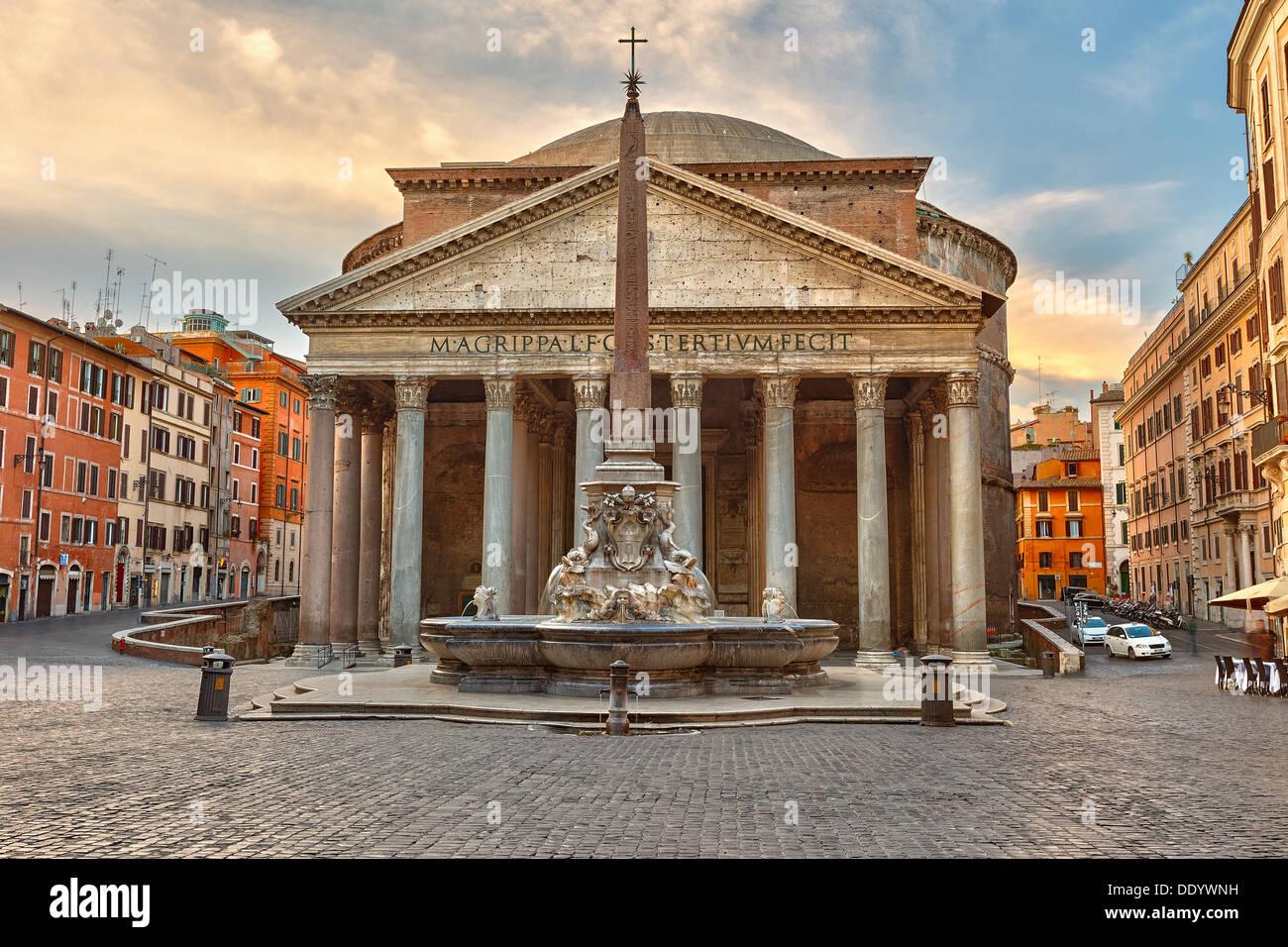Panthéon de Rome, Italie Photo Stock