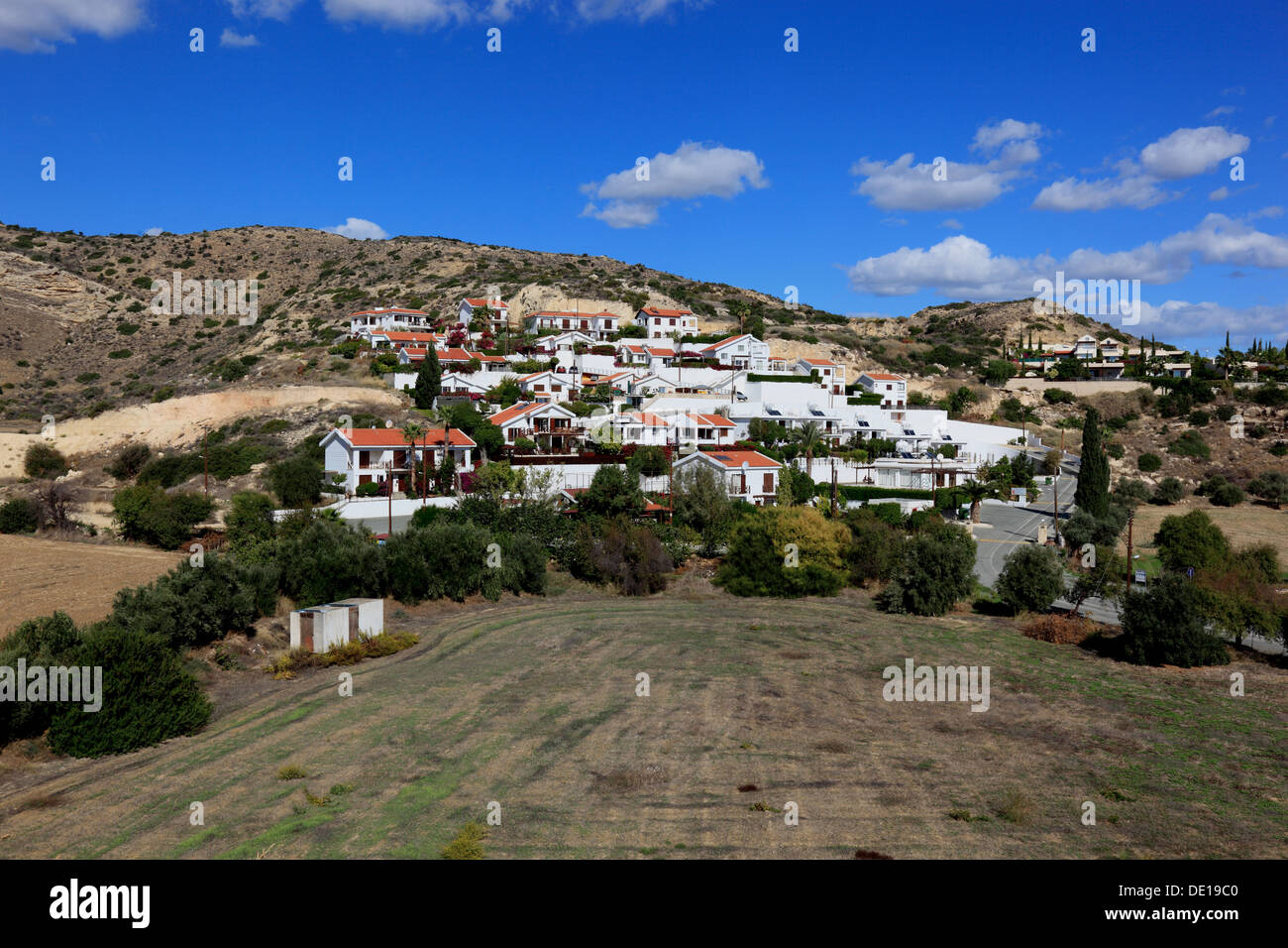 Chypre, Pissouri, nouveau domaine, l'apartments Photo Stock