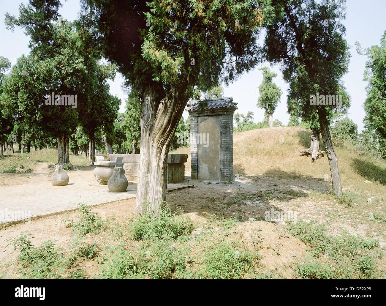 La Tombe De Mre Mencius Lun Des Disciples Confucius Au