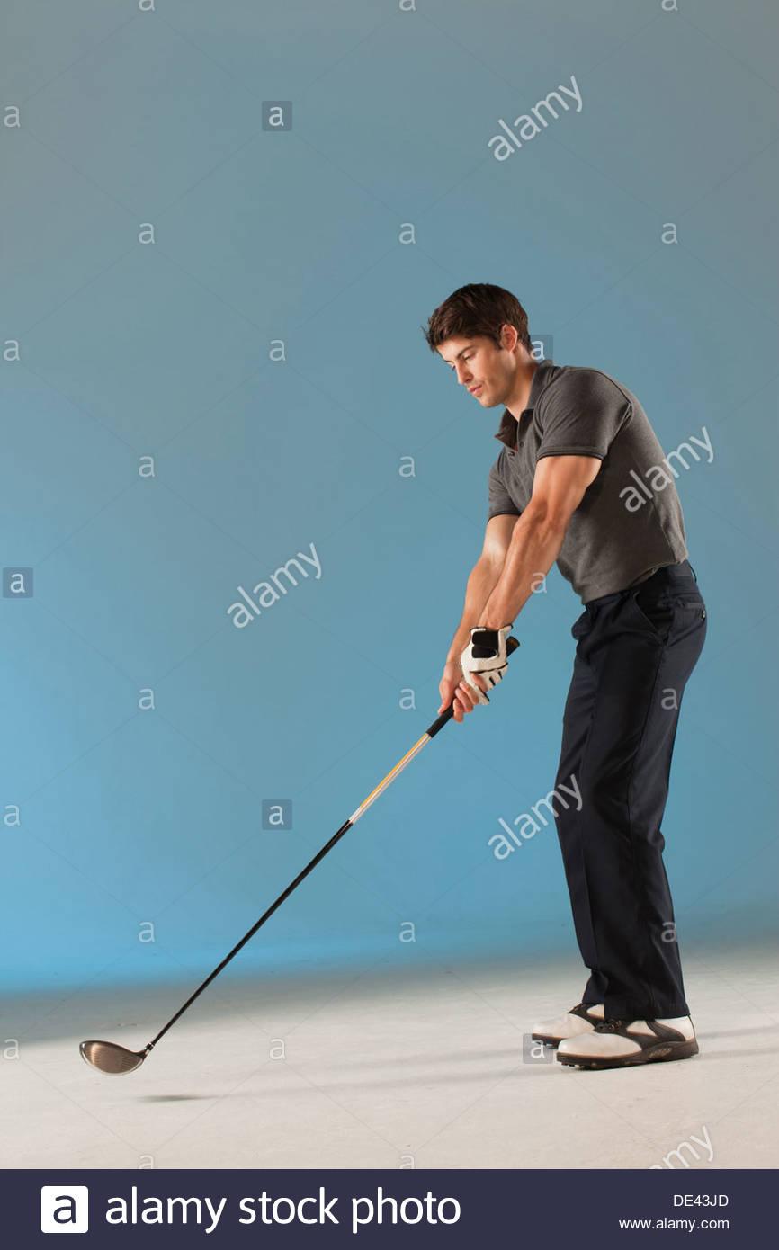 Swing Golf Club Photo Stock