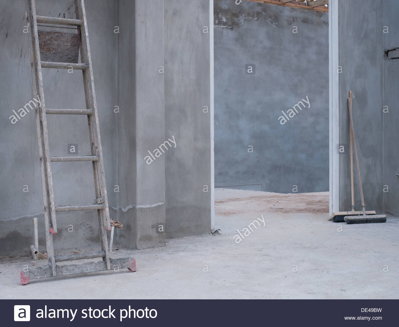 Maison en construction Photo Stock