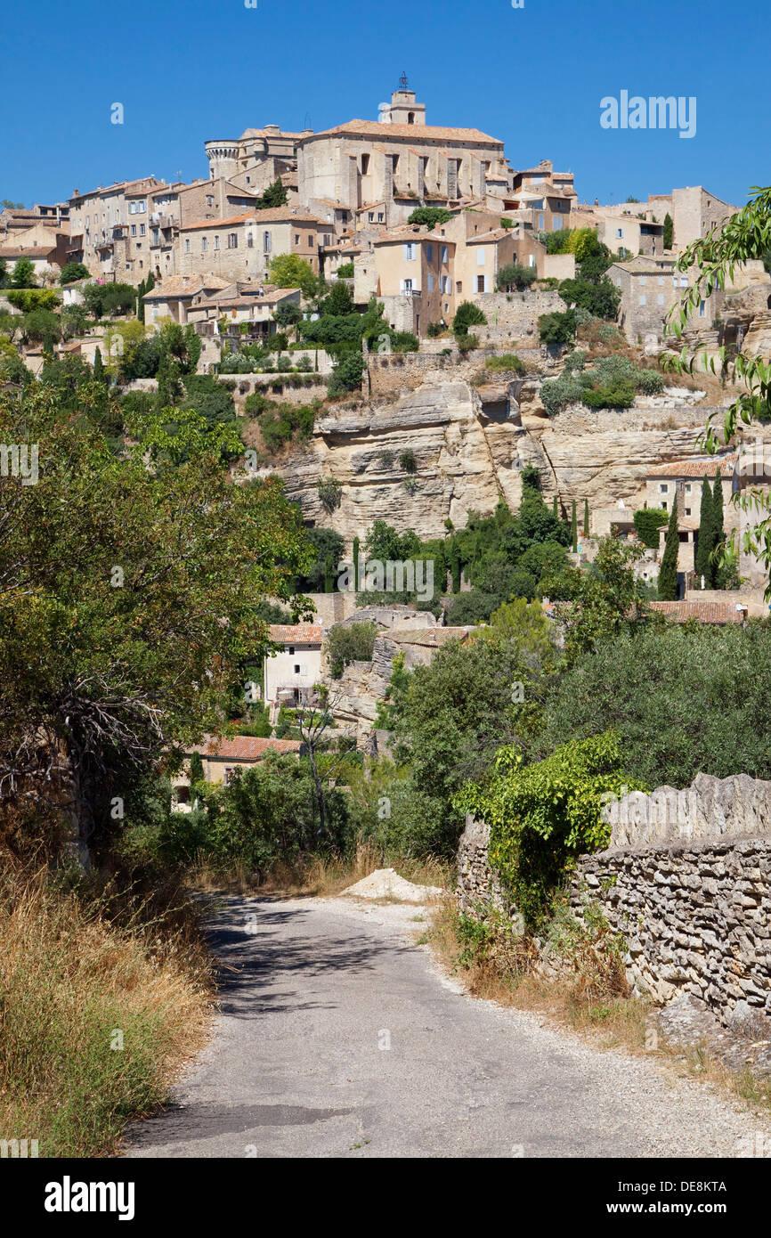 Village de Gordes en Provence, France. Photo Stock